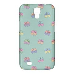 Butterfly Pastel Insect Green Samsung Galaxy Mega 6.3  I9200 Hardshell Case