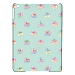 Butterfly Pastel Insect Green iPad Air Hardshell Cases