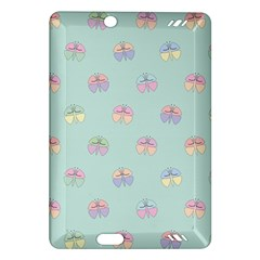 Butterfly Pastel Insect Green Amazon Kindle Fire HD (2013) Hardshell Case