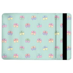 Butterfly Pastel Insect Green iPad Air 2 Flip