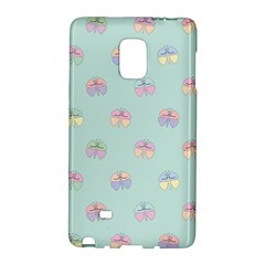 Butterfly Pastel Insect Green Galaxy Note Edge