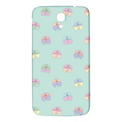 Butterfly Pastel Insect Green Samsung Galaxy Mega I9200 Hardshell Back Case