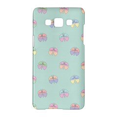 Butterfly Pastel Insect Green Samsung Galaxy A5 Hardshell Case