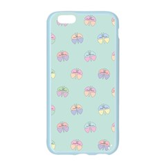 Butterfly Pastel Insect Green Apple Seamless iPhone 6/6S Case (Color)