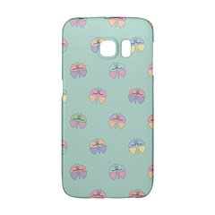 Butterfly Pastel Insect Green Galaxy S6 Edge