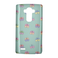Butterfly Pastel Insect Green LG G4 Hardshell Case