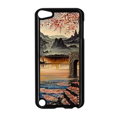 Japanese Lake Of Tranquility Apple iPod Touch 5 Case (Black)