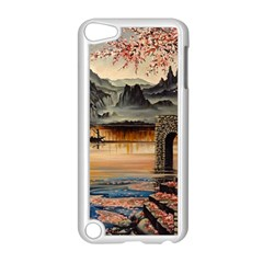 Japanese Lake Of Tranquility Apple iPod Touch 5 Case (White)