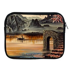Japanese Lake Of Tranquility Apple iPad 2/3/4 Zipper Cases