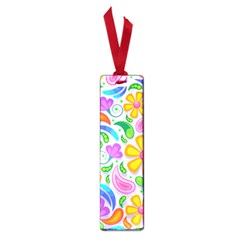 Floral Paisley Background Flower Small Book Marks