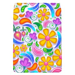 Floral Paisley Background Flower Flap Covers (S)