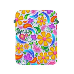 Floral Paisley Background Flower Apple iPad 2/3/4 Protective Soft Cases