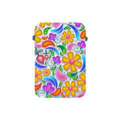 Floral Paisley Background Flower Apple iPad Mini Protective Soft Cases