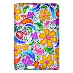 Floral Paisley Background Flower Amazon Kindle Fire HD (2013) Hardshell Case