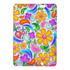 Floral Paisley Background Flower Kindle Fire HDX 8.9  Hardshell Case