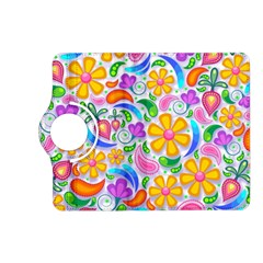 Floral Paisley Background Flower Kindle Fire HD (2013) Flip 360 Case