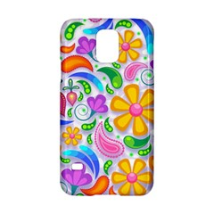 Floral Paisley Background Flower Samsung Galaxy S5 Hardshell Case