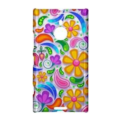 Floral Paisley Background Flower Nokia Lumia 1520