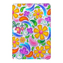 Floral Paisley Background Flower Samsung Galaxy Tab Pro 10.1 Hardshell Case