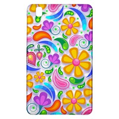Floral Paisley Background Flower Samsung Galaxy Tab Pro 8.4 Hardshell Case