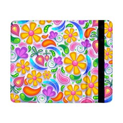 Floral Paisley Background Flower Samsung Galaxy Tab Pro 8.4  Flip Case