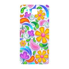 Floral Paisley Background Flower Samsung Galaxy Alpha Hardshell Back Case