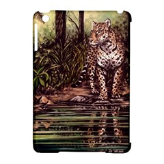 Jaguar in the Jungle Apple iPad Mini Hardshell Case (Compatible with Smart Cover)