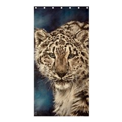 Snow Leopard Shower Curtain 36  x 72  (Stall)