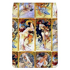 Alfons Mucha 1895 The Four Seasons Flap Covers (L)