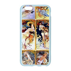Alfons Mucha 1895 The Four Seasons Apple Seamless iPhone 6/6S Case (Color)