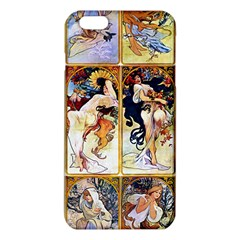 Alfons Mucha 1895 The Four Seasons iPhone 6 Plus/6S Plus TPU Case