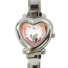 Elephant Heart Plush Vertical Toy Heart Italian Charm Watch