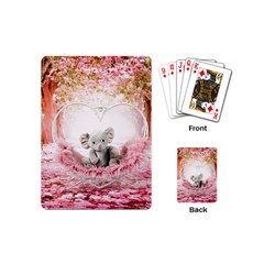 Elephant Heart Plush Vertical Toy Playing Cards (Mini)