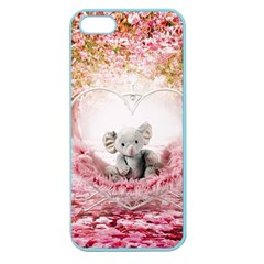 Elephant Heart Plush Vertical Toy Apple Seamless iPhone 5 Case (Color)