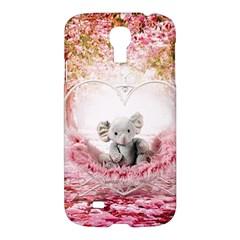 Elephant Heart Plush Vertical Toy Samsung Galaxy S4 I9500/I9505 Hardshell Case