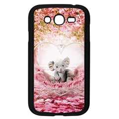 Elephant Heart Plush Vertical Toy Samsung Galaxy Grand DUOS I9082 Case (Black)