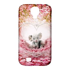 Elephant Heart Plush Vertical Toy Samsung Galaxy S4 Classic Hardshell Case (PC+Silicone)