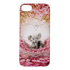 Elephant Heart Plush Vertical Toy Apple iPhone 5S/ SE Hardshell Case