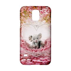 Elephant Heart Plush Vertical Toy Samsung Galaxy S5 Hardshell Case