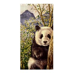 Panda Shower Curtain 36  x 72  (Stall)