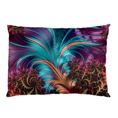 Feather Fractal Artistic Design Pillow Case (Two Sides)