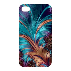 Feather Fractal Artistic Design Apple iPhone 4/4S Hardshell Case