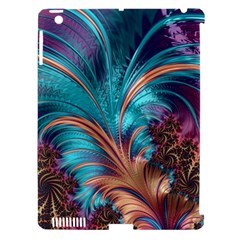 Feather Fractal Artistic Design Apple iPad 3/4 Hardshell Case (Compatible with Smart Cover)