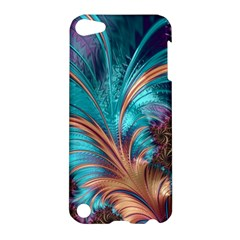 Feather Fractal Artistic Design Apple iPod Touch 5 Hardshell Case