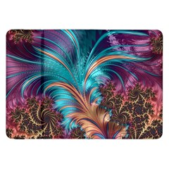 Feather Fractal Artistic Design Samsung Galaxy Tab 8.9  P7300 Flip Case