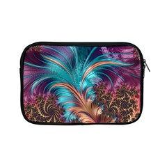 Feather Fractal Artistic Design Apple iPad Mini Zipper Cases