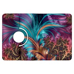 Feather Fractal Artistic Design Kindle Fire HDX Flip 360 Case
