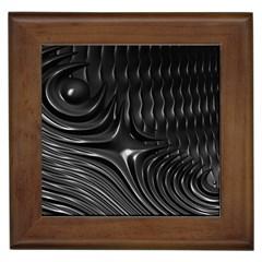 Fractal Mathematics Abstract Framed Tiles