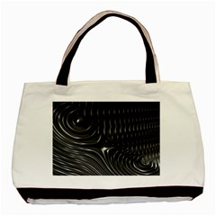 Fractal Mathematics Abstract Basic Tote Bag (Two Sides)