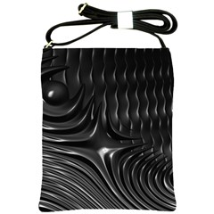 Fractal Mathematics Abstract Shoulder Sling Bags